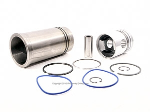 sleeve, piston, pin, rings assy. diam 105mm R3 turbo