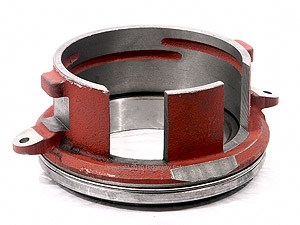 PTO clutch disengaging bearing w/collar and eyes for release springs