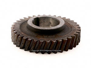 constant mesh reduction gear 2WD non sychronized transmission