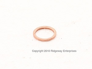 copper ring 14x18mm