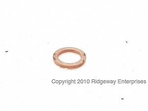 copper ring 8x12mm