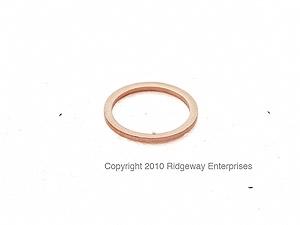 copper ring 18x22mm