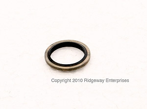 special seal ring(rubber and copper) 12x18mm