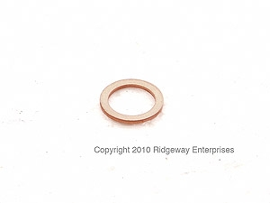copper ring 10x14mm