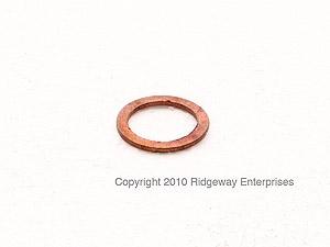 copper ring 16x22mm