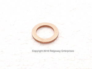 copper ring 12x18mm