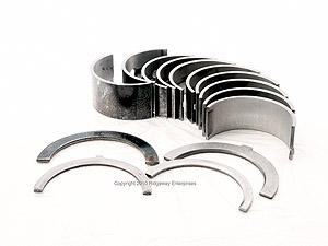 main bearing set, .0010 4 cyl.