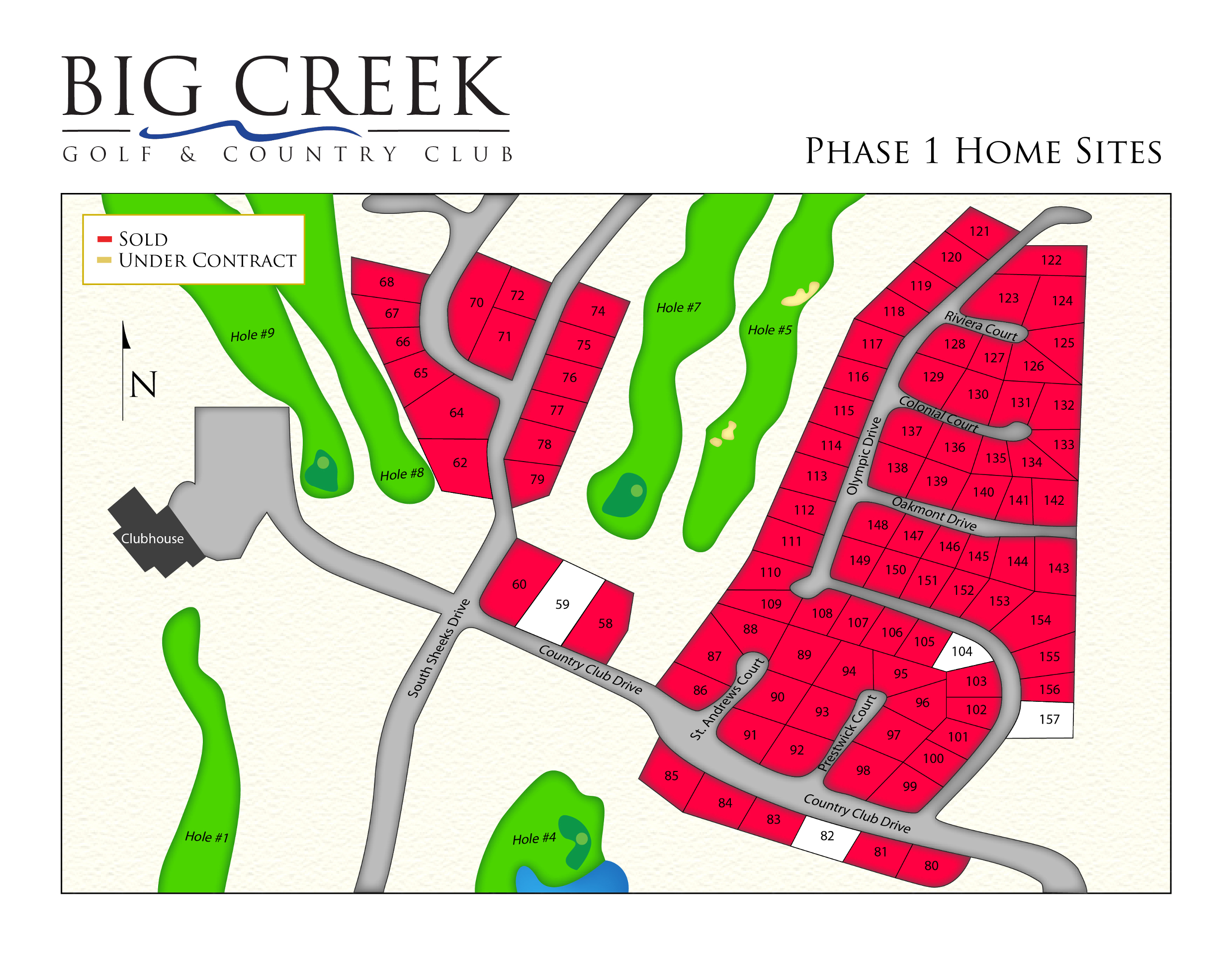 Big Creek Golf & Country Club Phase 1