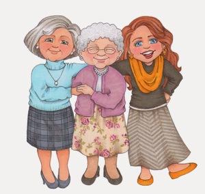 3 GENERATIONS OF HENSONS