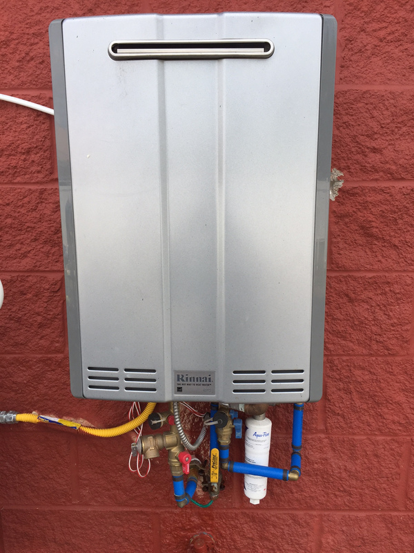 RINNAI COMMERCIAL WATER HEATERS