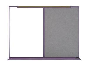 800 SERIES TYPE BR/BL COMBO - Markerboard, Chalkboard or Tackboard with 5/8