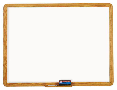 2900 SERIES - Dry Erase Markerboard with 1 3/4