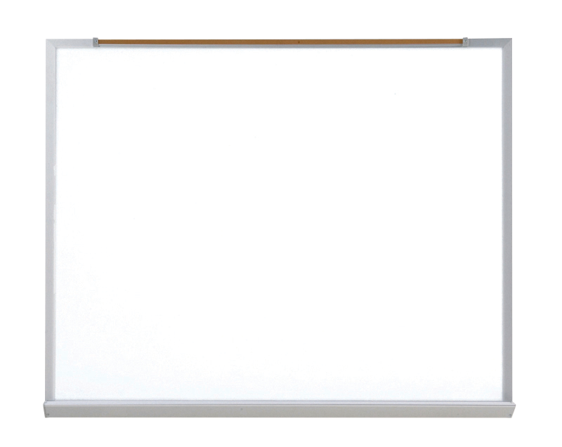 COMMERCIAL SERIES - Dry Erase Markerboard with 1 1/4