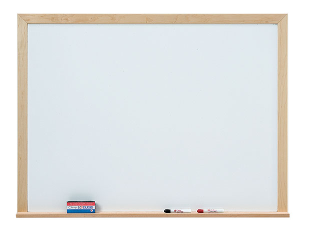 WLCS SERIES DRY ERASE MARKERBOARD - 1 3/4
