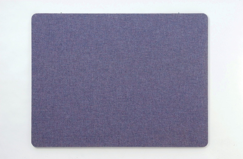 3400 SERIES TACKBOARD - Frameless Fabric Edge Wrap with Radius Corners