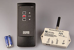 WRC766 - Projection Screen Wireless Remote