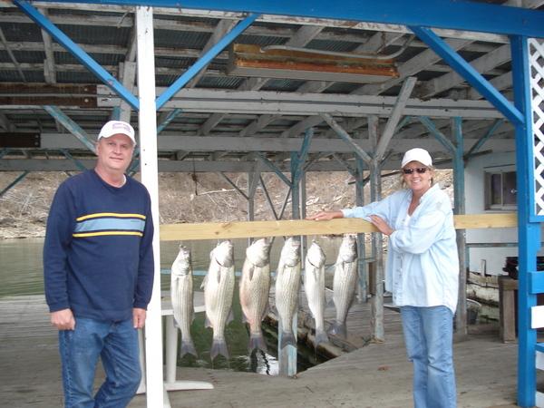 Fishing on Lake Norfork