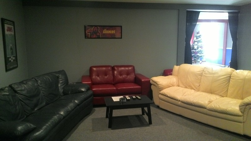 Game Room & Movie Room