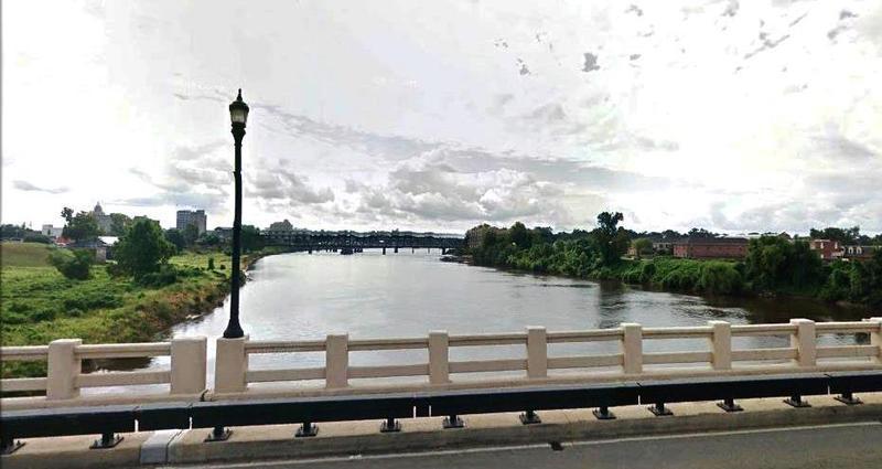 Ouachita River in Monroe, Louisiana