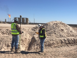 Pipeline Boundary Survey, Winkler, Ward, Reeves, & Pecos Counties, Texas
