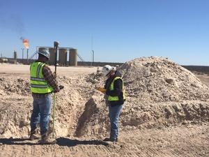 Pipeline Boundary Survey, Winkler, Ward, Reeves, & Pecos Counties, Texas