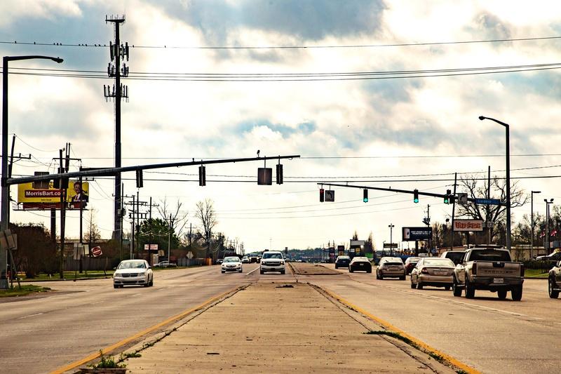 LA 327 Spur, Gardere Lane in East Baton Rouge Parish, Louisiana (Gardere at Burbank pictured)