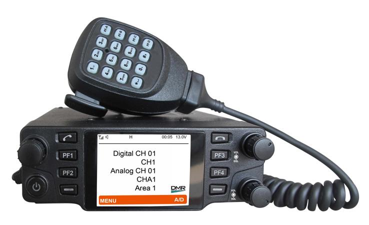 M200U/V UHF Mobile DMR Radio