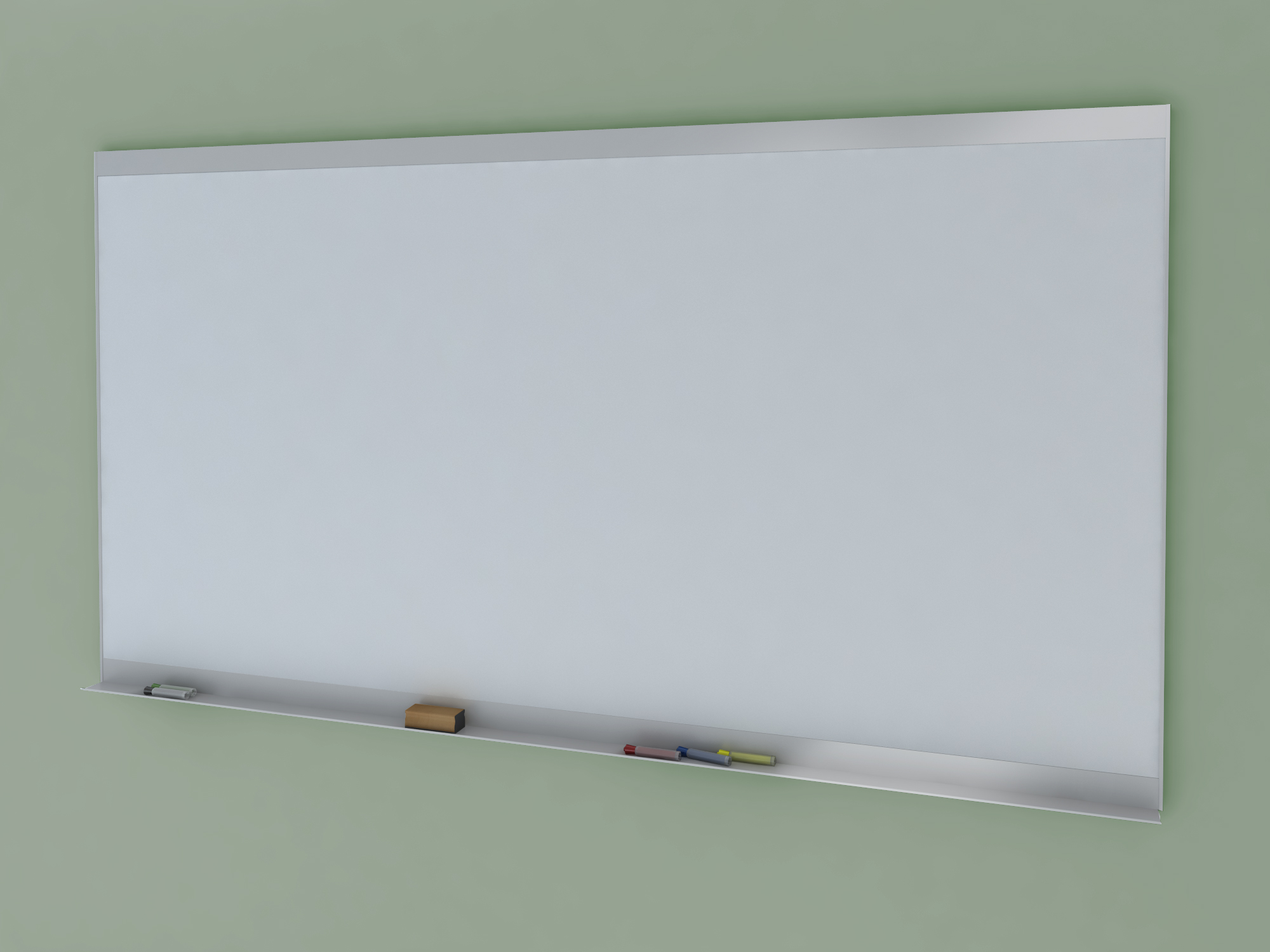 EVOLVE - Dry Erase Markerboard w/ Wide Face Top & Bottom Trim