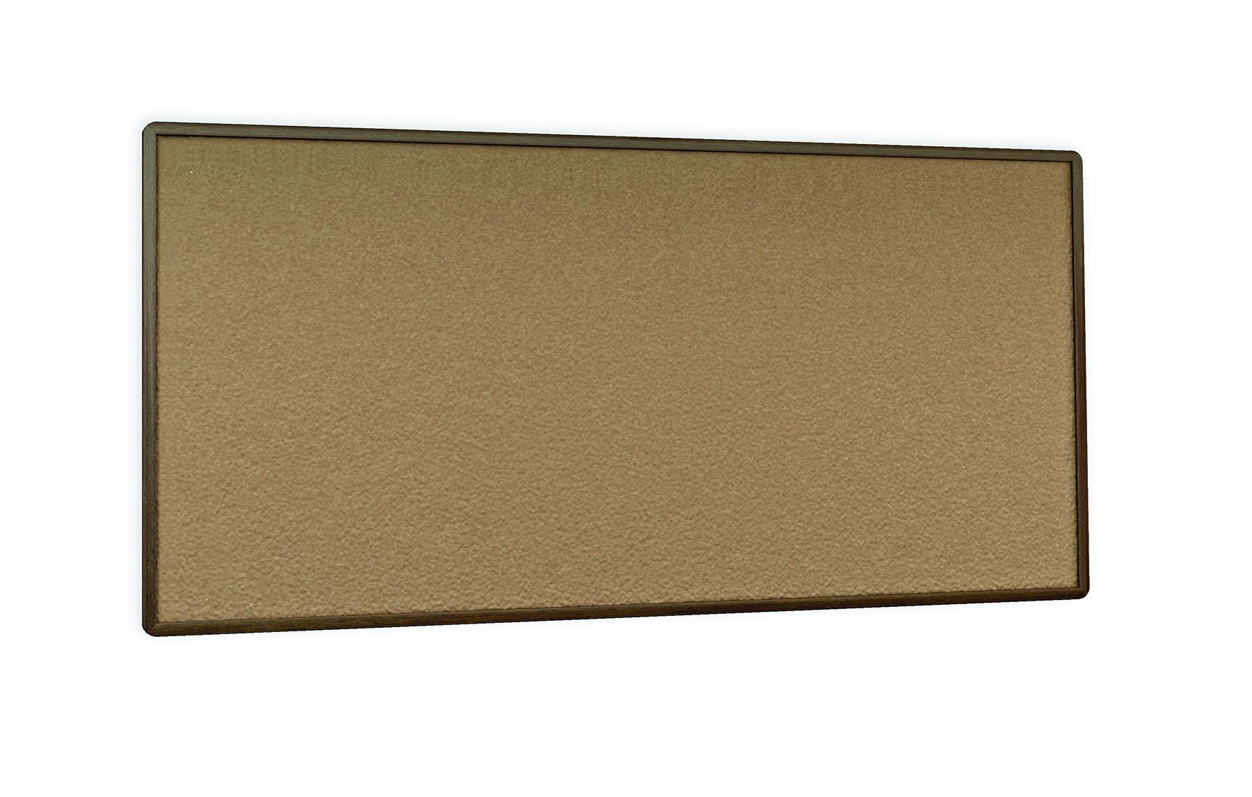 Combination markerboard u0026 tackboard cork board modern for Modern cork board