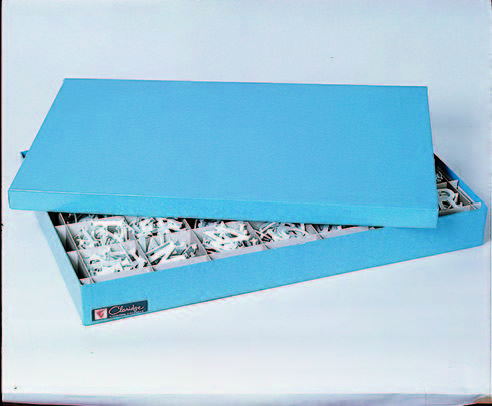 DIRECTORY LETTER STORAGE BOX - With 100 Assorted Letters and Numbers