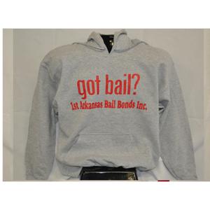 Got Bail? - Hoodie/Gray