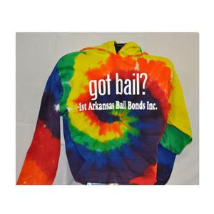 Got Bail? - Hoodie/Tie Dye