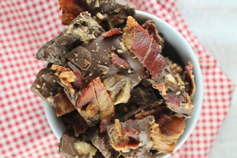 Bacon Toffee Chocolate Bark