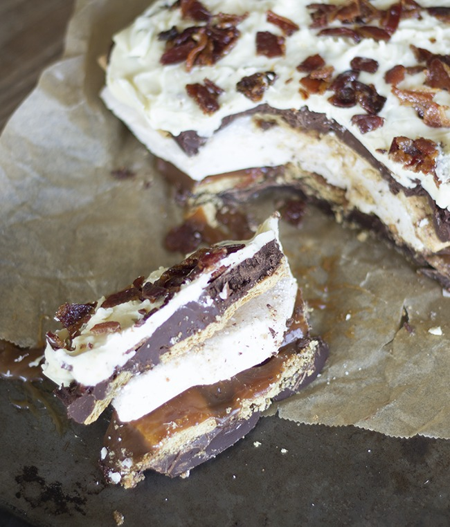 Boozy Bacon Bark