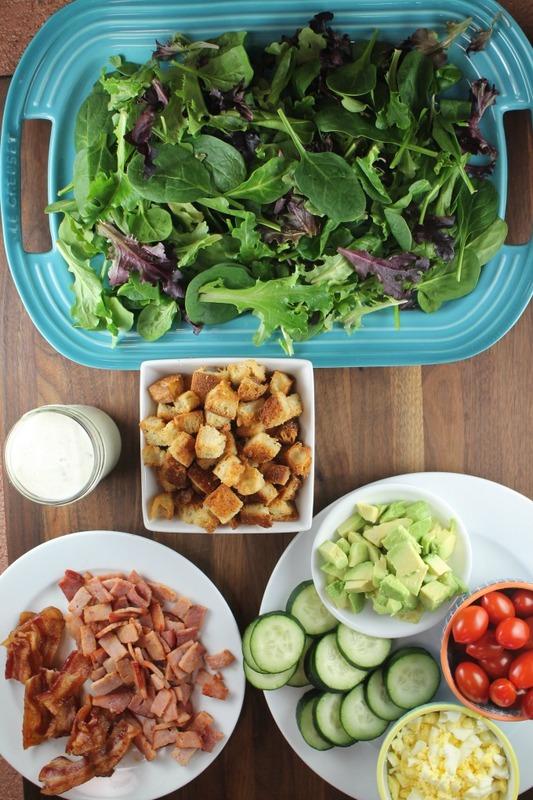 Kicked Up Chef's Salad