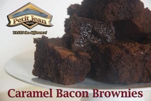 Caramel Bacon Brownies