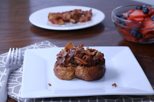 Maple Bacon Sticky Buns