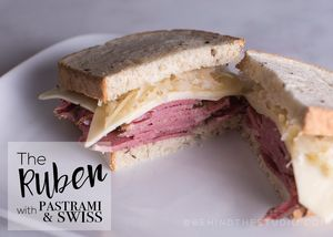 Reuben With Pastrami And Swiss