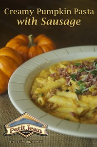 Creamy Pumpkin Pasta With Sausage
