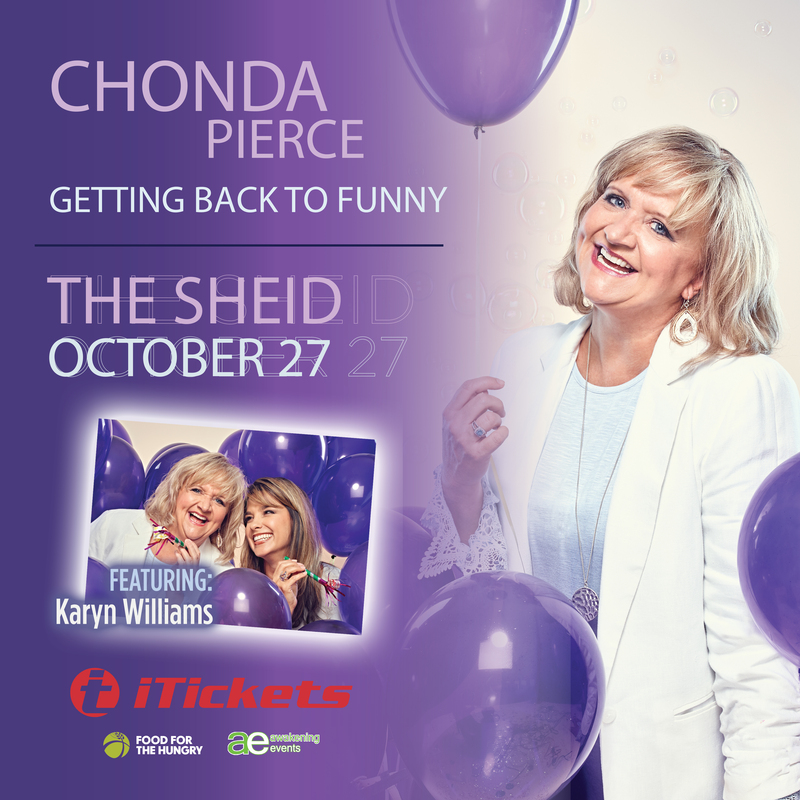 Chonda Pierce Getting Back to Funny Tour
