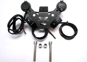 CAN-AM SPYDER 12 VOLT DOCKING STATION SF3-1U12-2S (1-USB, 1-12 Volt 2 Switches)