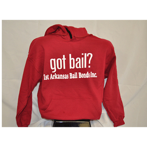 Got Bail? - Hoodie/Red