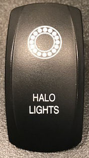 SPYDER EXTRAS ROCKER SWITCH COVER SF3-HALO