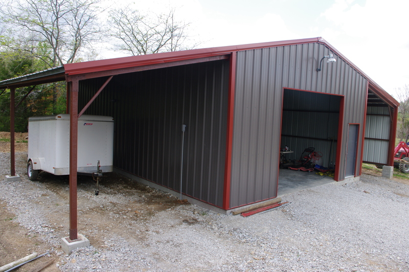 Steel building residential solution