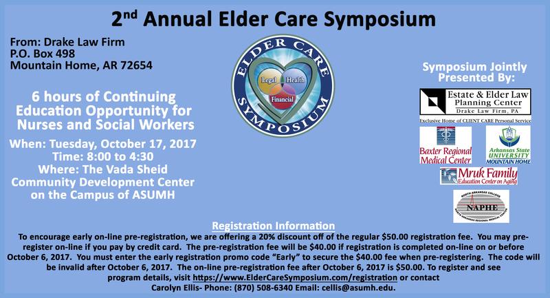 2nd Annual Elder Care Symposium