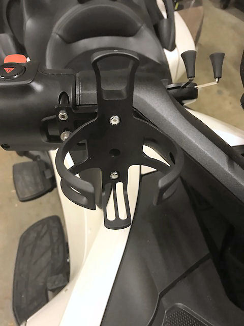 SPYDER EXTRAS CUP HOLDER SF3RT-CHR KIT RIGHT SIDE