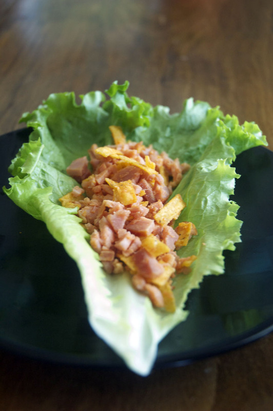 Blazing Buffalo Lettuce Wraps
