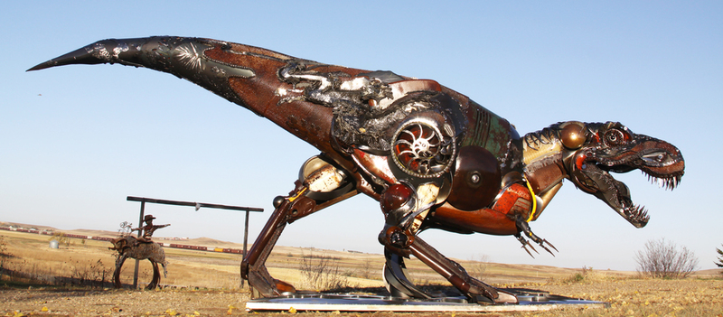 John Lopez - Welded Art - Reclaimed