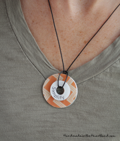 DIY Washer Necklace