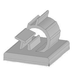 Adhesive Backed Wire and Cable Clips